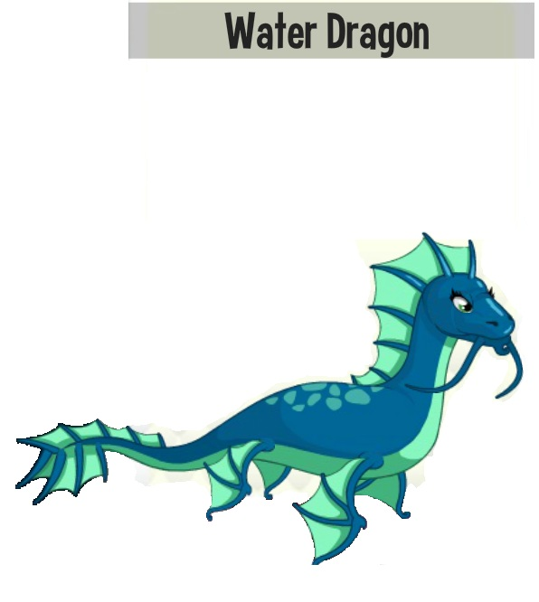 Water Storm Dragon Dragon City